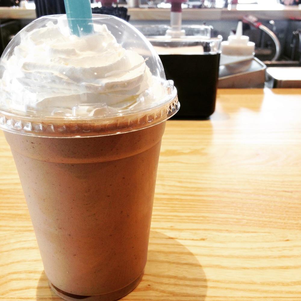 Mmmmmm....Nutella shake...