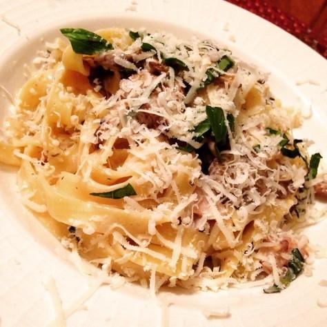 Creamy Wild Mushroom Pasta by The Foodielennial