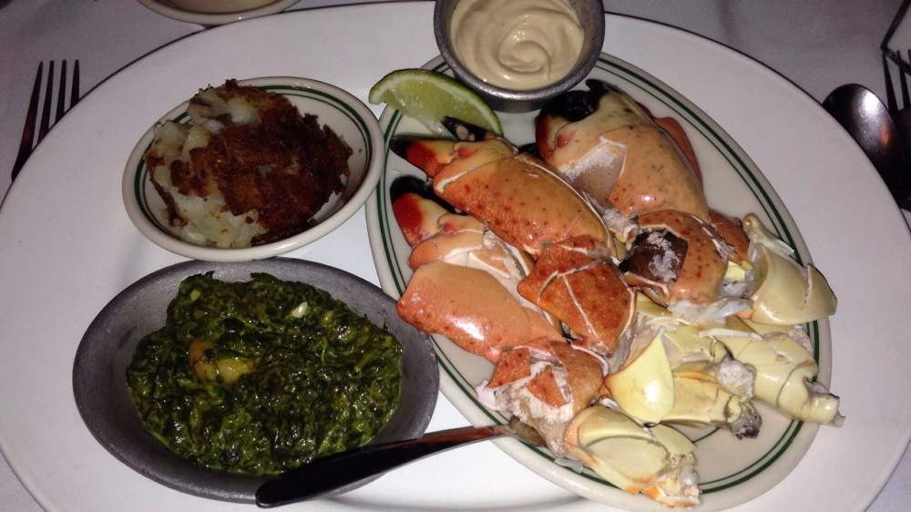 Joe's Classic Meal at Joe's Stone Crab, Miami Beach, FL | The Foodielennial