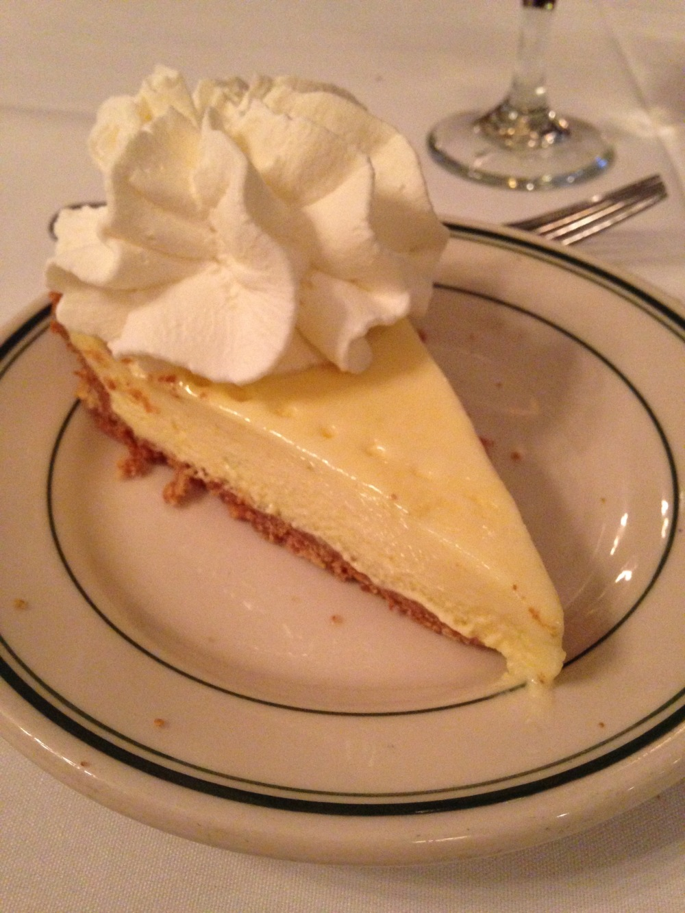 Key Lime Pie, Joe's Stone Crab, Miami Beach, Florida | The Foodielennial